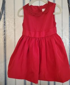 Jason Wu Target Girls 2T Red Taffeta Formal Dress